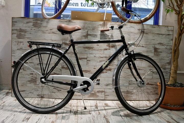 BBF Fahrrad vor Fahrradladen München