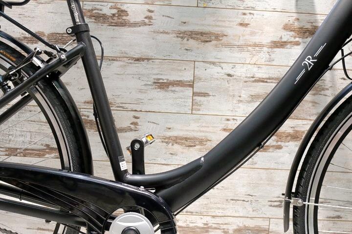 Citylight Fahrrad Tiefeinsteiger nahaufnahme in Fahrradladen München