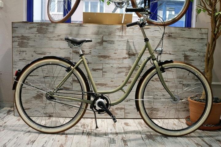 Retro Fahrrad Beige in 2Rad Fahrradladen München