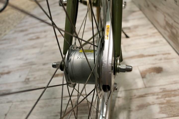 Retro Fahrrad Hinterrad in 2Rad Fahrradladen München 4