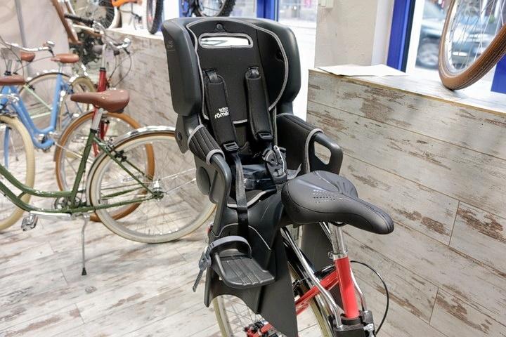 Retro Fahrrad + Mutter-Kind Kindersitz in 2Rad Fahrradladen München