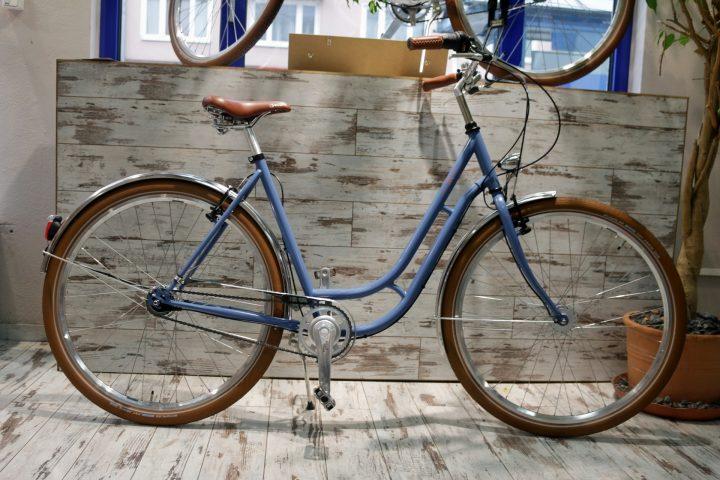 Retro Fahrrad in 2Rad Fahrradladen München 4